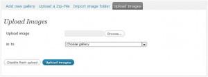 NextGen - Upload Images