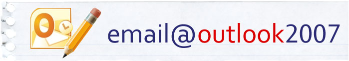 Configuring your email in MS Outlook 2007