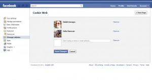 Facebook Administrators List